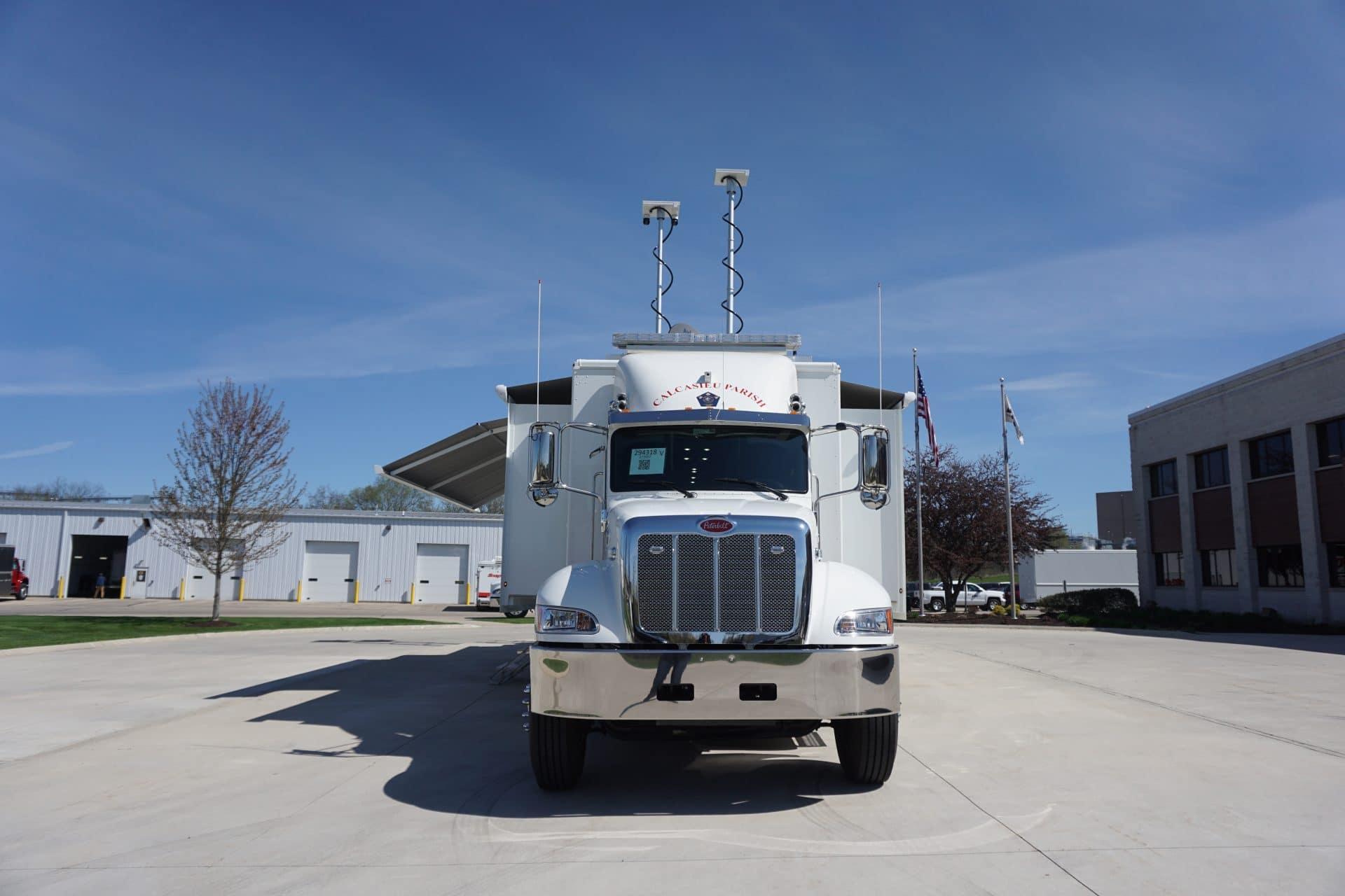 Calcasieu Parish OHSEP LDV Mobile Command Vehicle