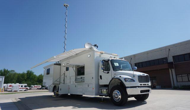 LDV-mobile command center