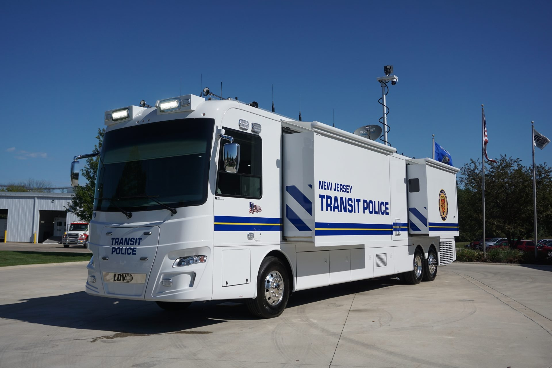LDV New Jersey Transit Police Mobile Command Center