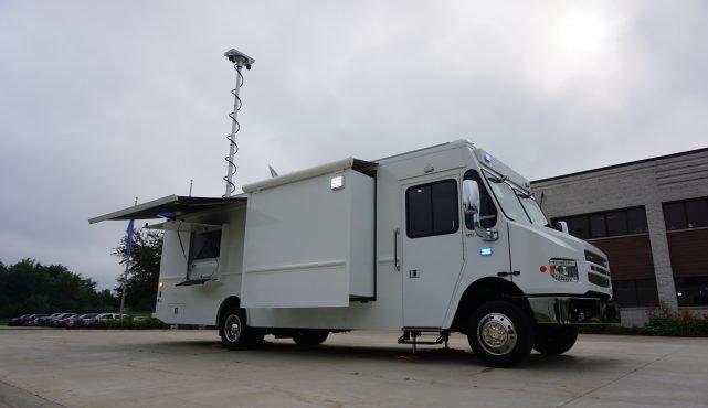 LDV mobile command center