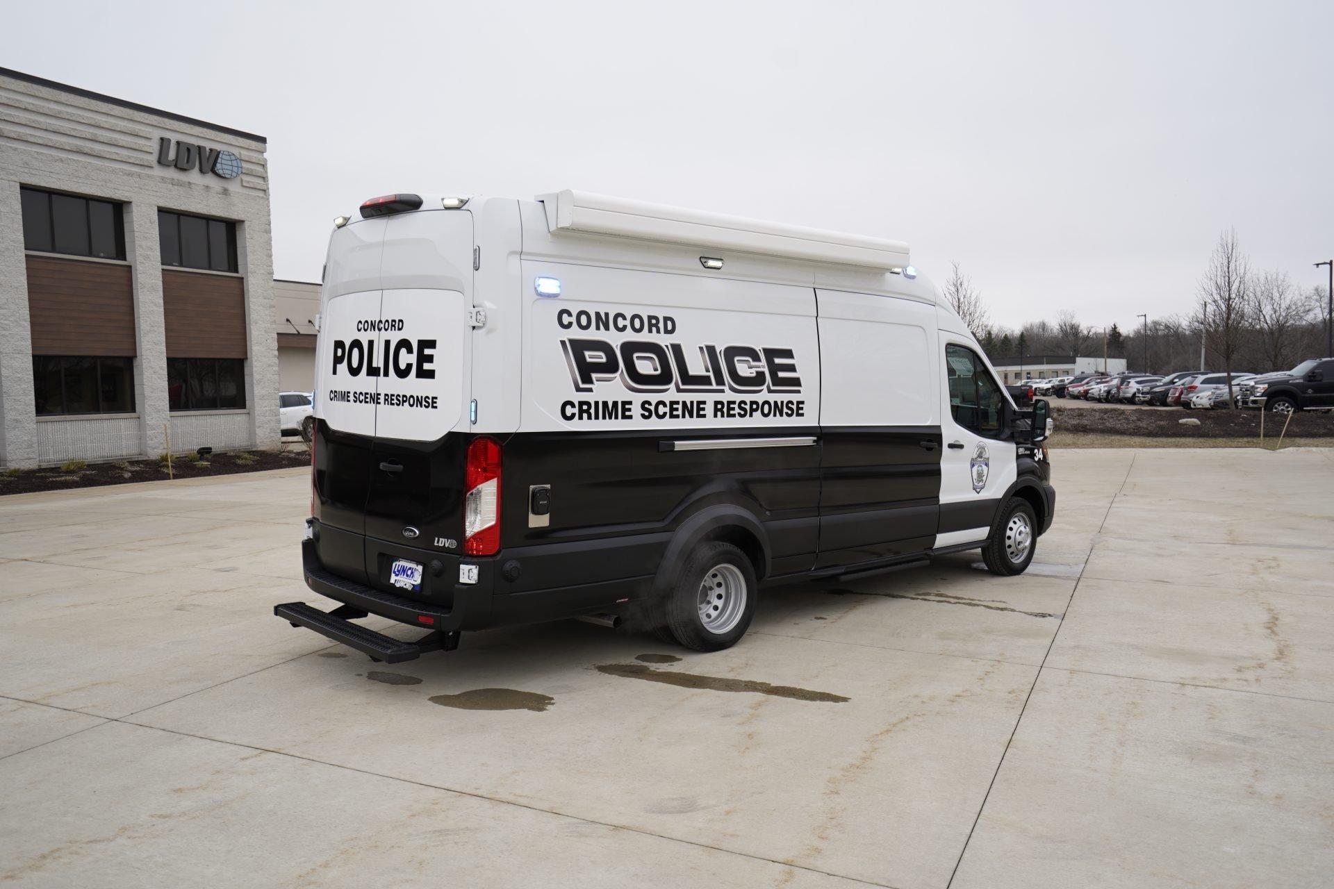 LDV-Concord Police Mobile Crime Lab