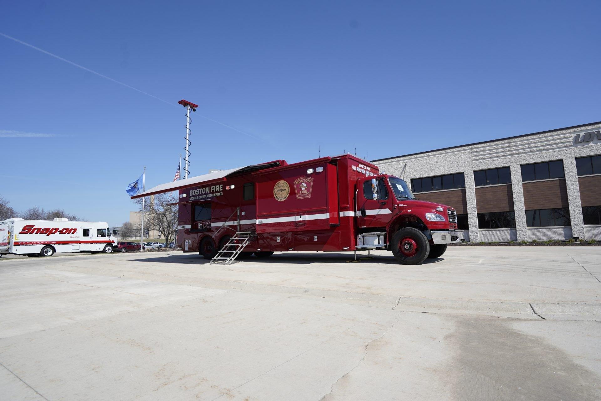 LDV-Boston Fire Department Mobile Command Center