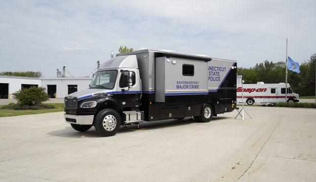 LDV-Connecticut State Police Mobile Crime Lab