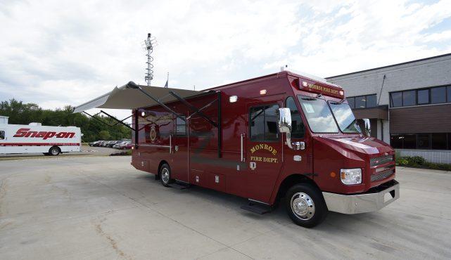 LDV-Monroe Fire Department Mobile Rehab Mobile Command Center