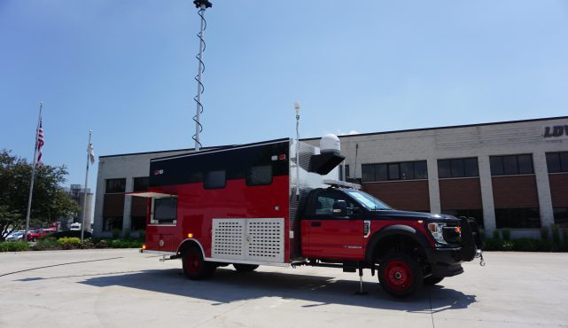 LDV-Incident Command Vehicle