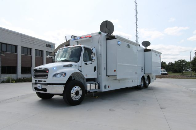 Placer County Sheriff mobile command center