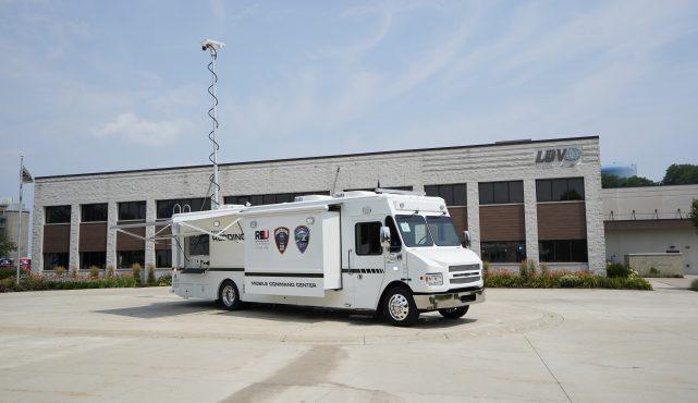 LDV-Redding Police mobile command center