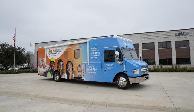 LDV Mobile Medical Vehicle
