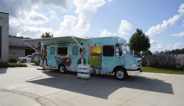 Salinas Public Library bookmobile