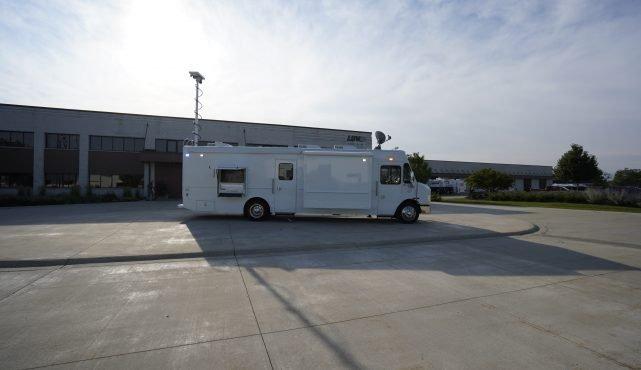 LDV Juab County mobile command center