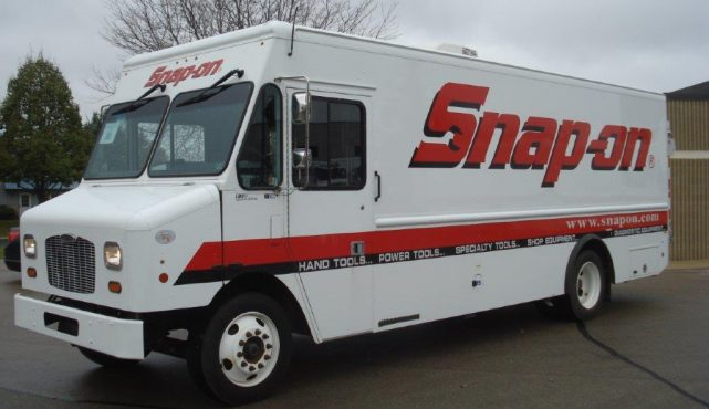 Snap-on tool truck